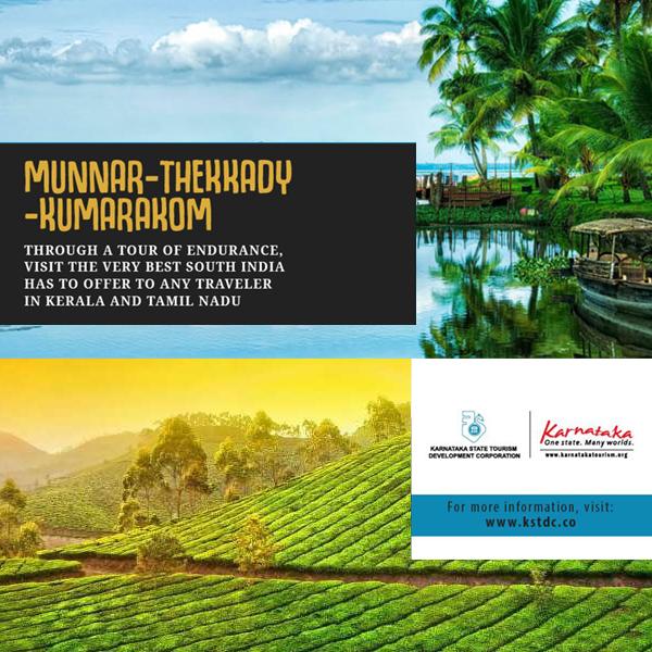 (English) Munnar Thekkady Kumarakom