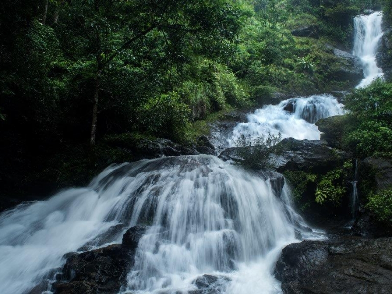 Irupu Waterfall- Coorg