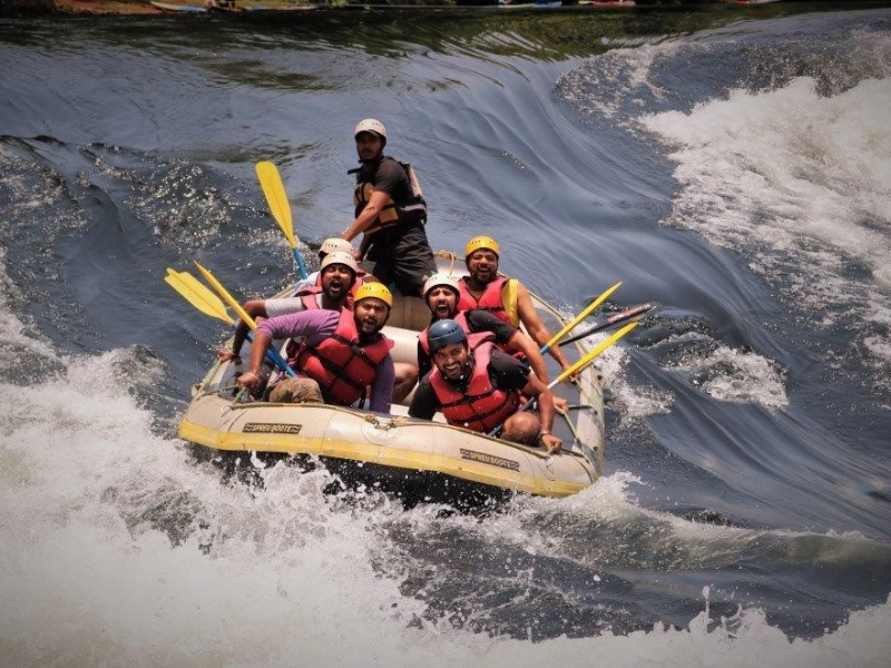 Riding the Rapids-  Dandeli