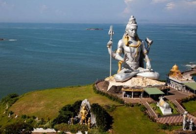lord shiva statue near murudeshwar temple