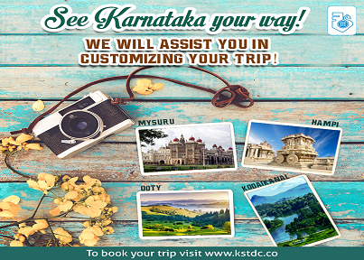 tourist places in karnataka for 3 days